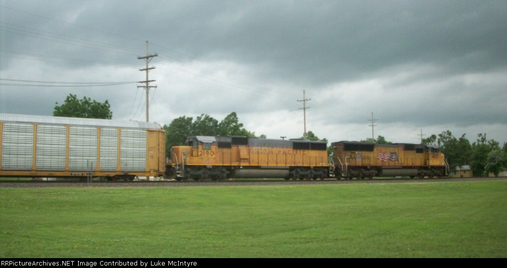 UP 4815 and UP 2190 rather rare SD60