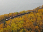 The Royal Canadian Pacific, the shores of Lake Superior and some beautiful fall colours