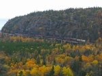 The Royal Canadian Pacific is seen here crossing over the Little Pic River