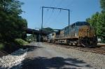 CSX Q418 at Woodbourne, PA