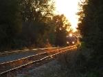 NS 8327 at sunset