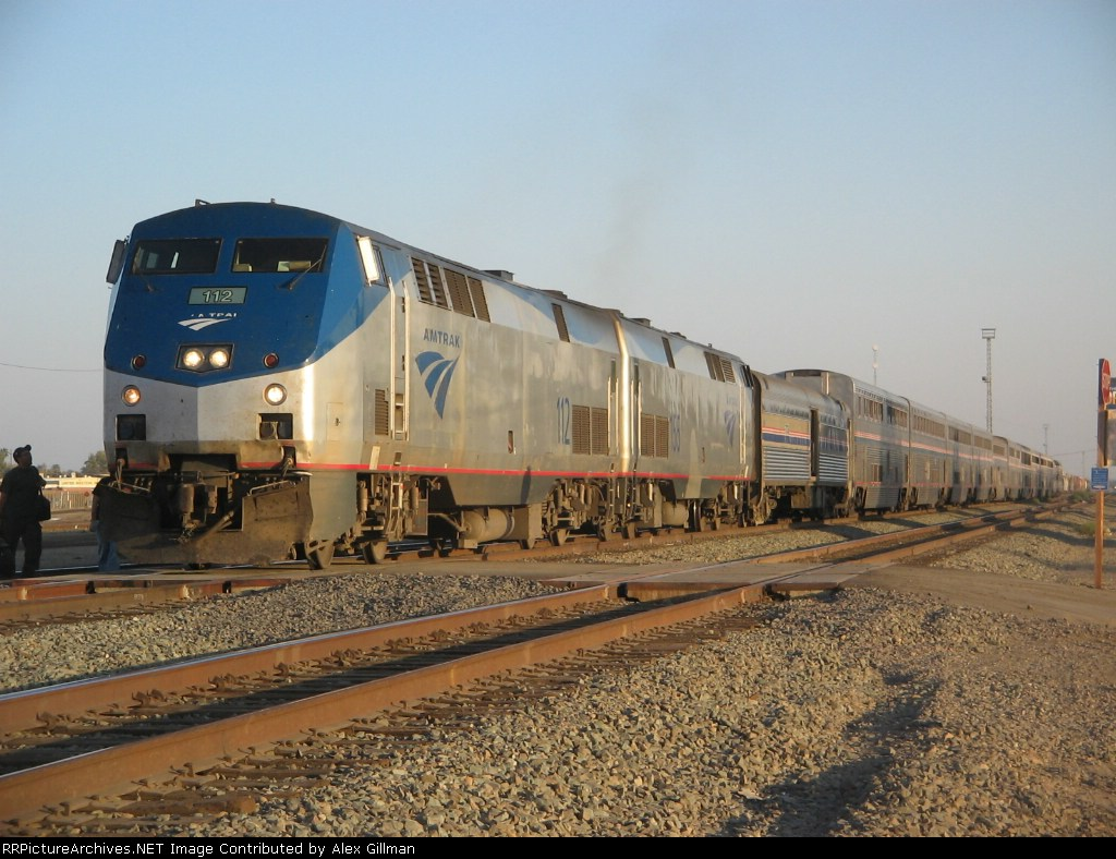 Amtrak Caost Starlight #14, Detour