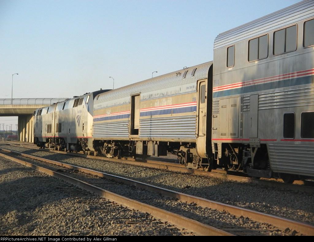 Amtrak Coast Starlight #14 Detour