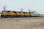 UP 4043 West Sticking Out of The Yard