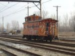South Shore Line caboose