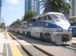 Amtrak Doubler Header, San Diego Station