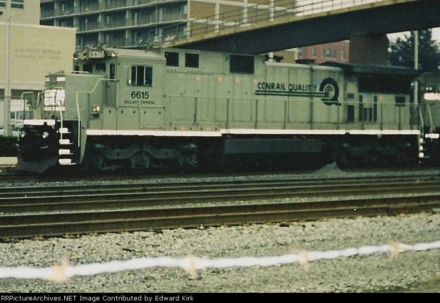 Conrail Dash 8 Ballast Hauler