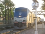 Amtrak #4, Fullerton