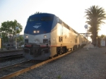 Amtrak #4 Departing Fullerton