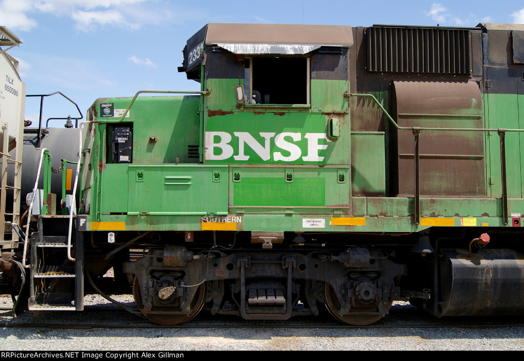 BNSF 2333 West Cab-Shot