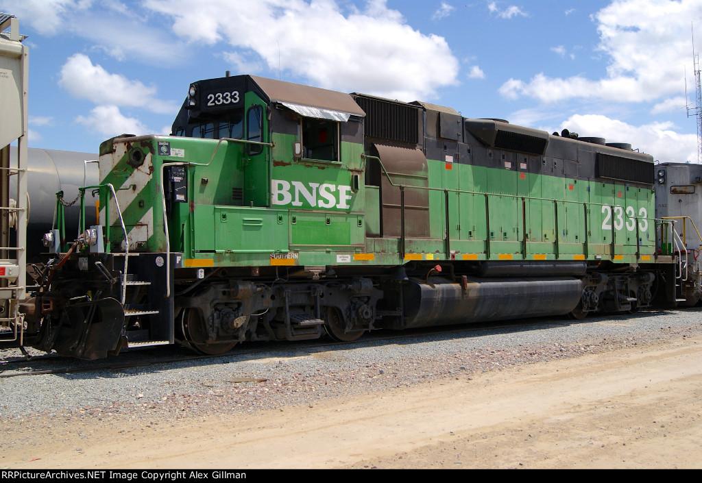 BNSF 2333 Westbound