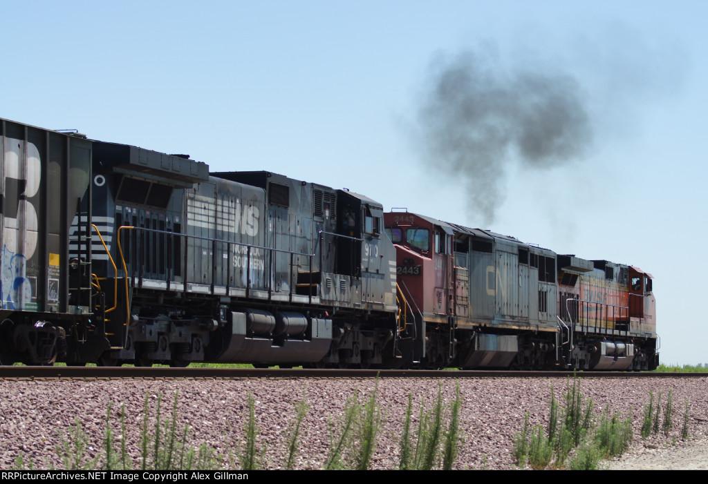 CN & NS Power Shoving Back