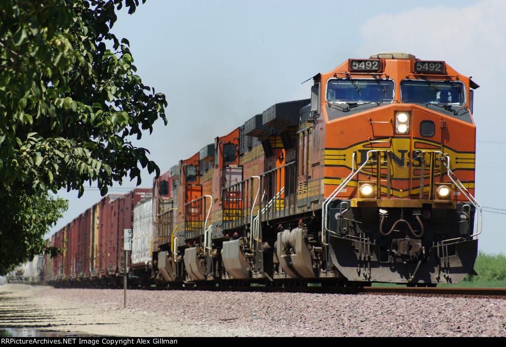BNSF 5492 East