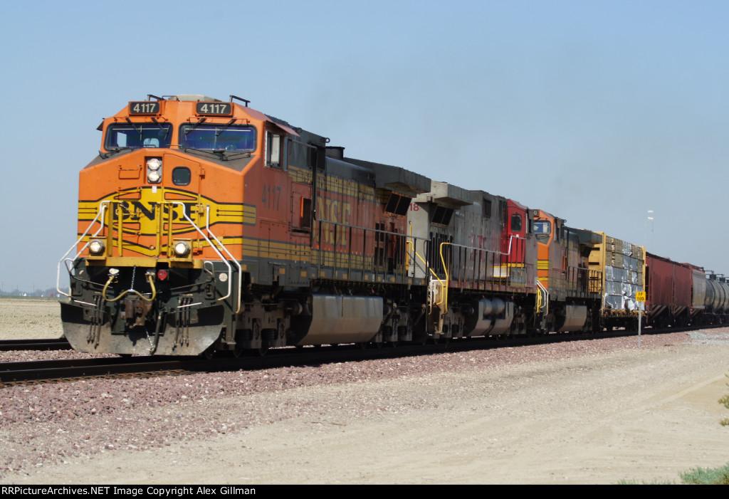 BNSF 4117 East