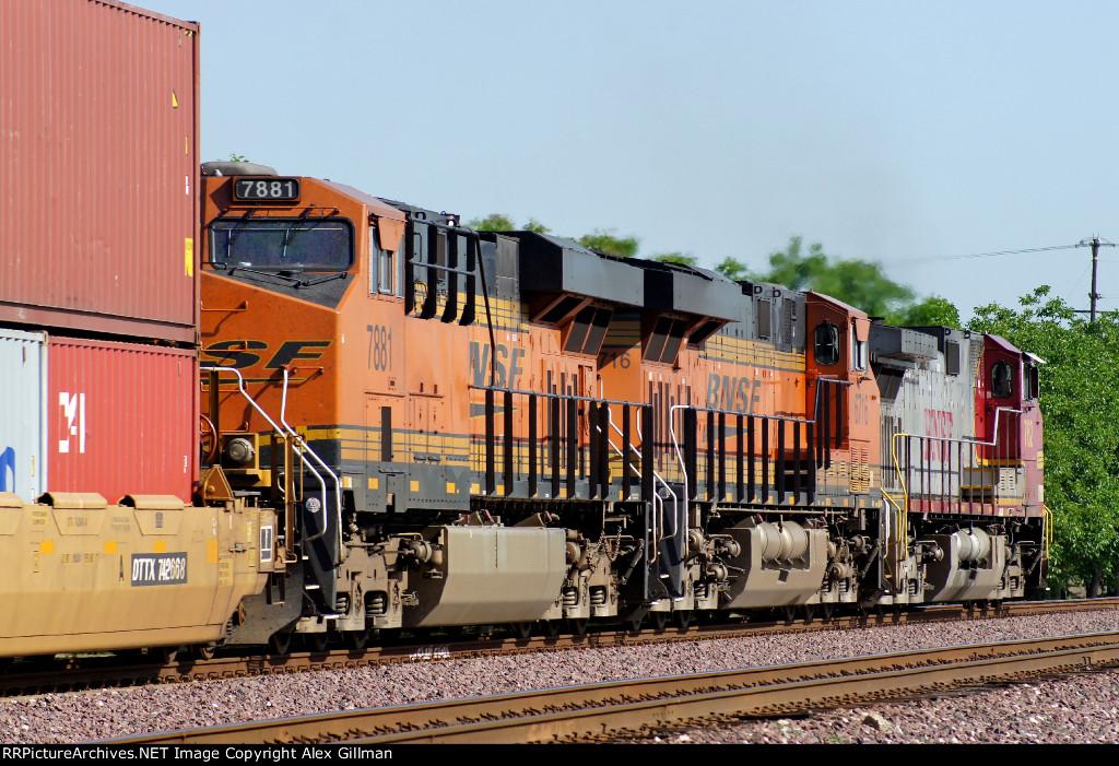 BNSF 7881 Westbound