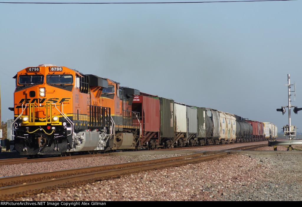 BNSF 6796 East