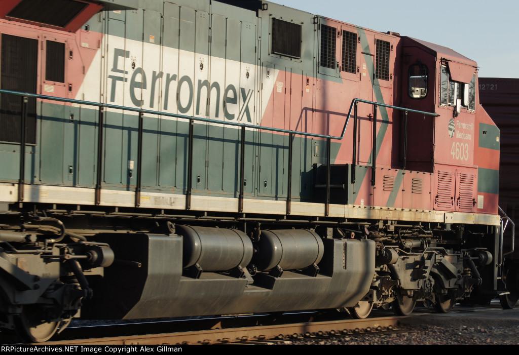FXE 4603 Eastbound