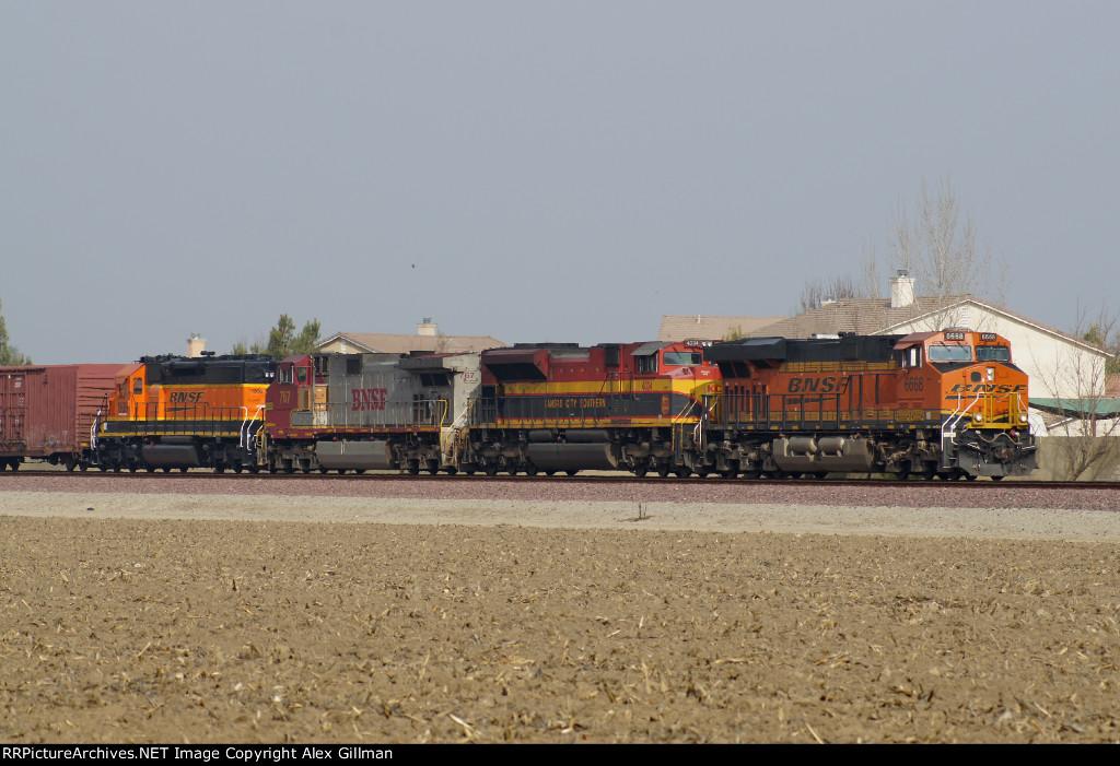BNSF 6668 East