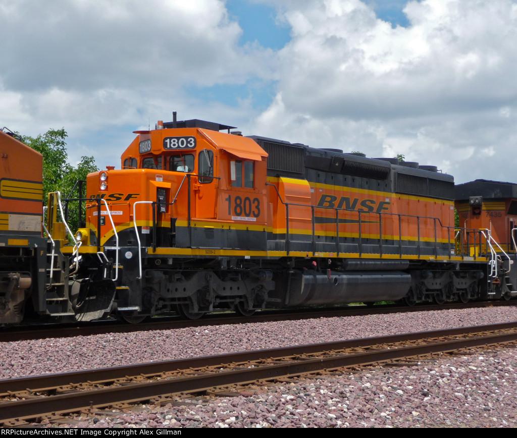 BNSF 1803 Westbound