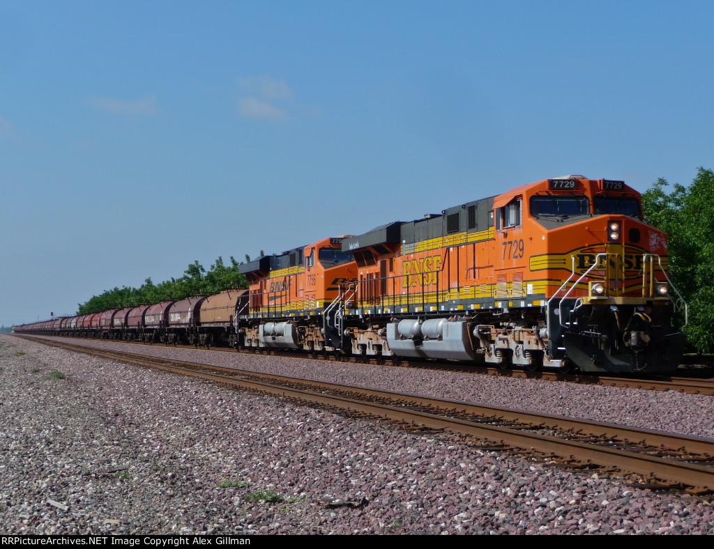 BNSF 7729 West