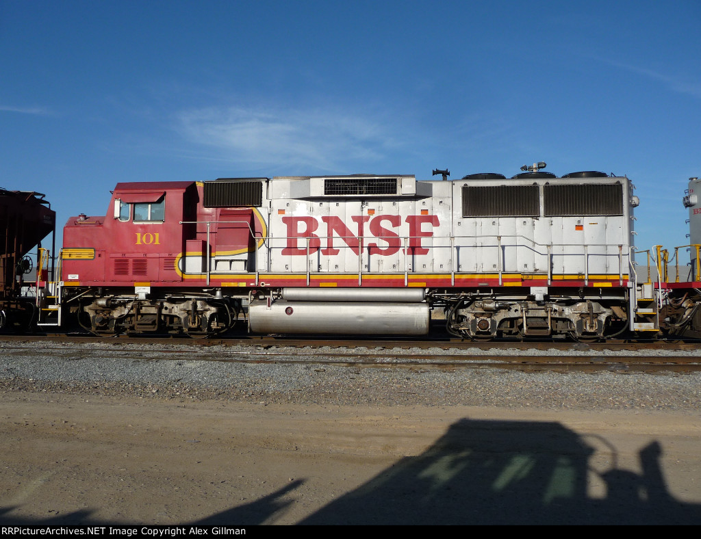BNSF 101 Side-Shot