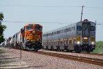 BNSF 6679 Westbound, CDTX 8314 East