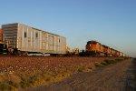 BNSF 935007 & BNSF 4160 West