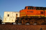 BNSF 935007 Alongside BNSF 4160 West