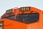 BNSF 6615 Different Number-boards