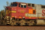 BNSF 615 Pan-Cab Shot