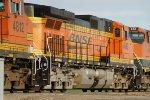 BNSF 4580 Eastbound, New H3 Scheme