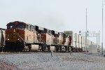 BNSF 7662 West
