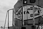 BNSF 552 B&W Nose Detals
