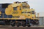 BNSF 2951 East Cab-Shot