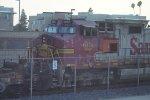 BNSF 668 Westbound