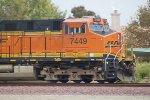 BNSF 7499 Westbound