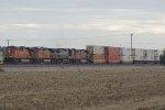BNSF 7697 West