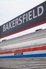 AMTK 10095 & Station Sign