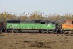 BNSF 8121 Westbound