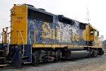 BNSF 2951 Rear/Side Shot