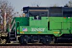 BNSF 2806 Westbound, Pan/Cab-Shot