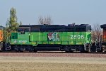 BNSF 2806 Westbound