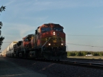 BNSF 5471 Through Shadows