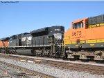 NS 2754, BNSF 5672