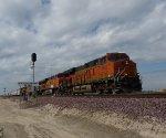 BNSF 6650 West