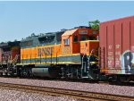 BNSF 2853 Eastbound, Small Toy On Nose!