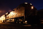 BNSF 4364 West, Night Time Roster Shot
