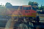 BNSF 507 West Cab-Shot