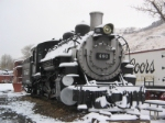 DRGW 491 In The Snow