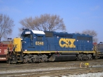 CSX 6346 At New River Yd